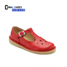 Connal popular design red wholesale mary jane school shoes