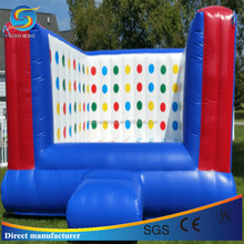 Popular special designed sport inflatable 3D twister game,giant twister entanglement for sale
