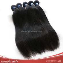 Fashion popular top quality 100% unprocessed virgin remy black asian human hair