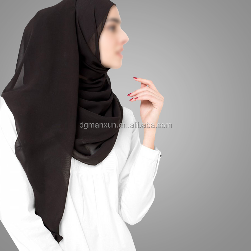 Latest Design Muslim Hijab Simple Style Shawl Best Selling Wholesale Long Islamic Scarf