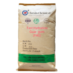 [Chuxin] Fast Hydration Guar Gum used in Oil drilling agent, Frac thickener, natural guar CAS 9000-30-0 guar gum