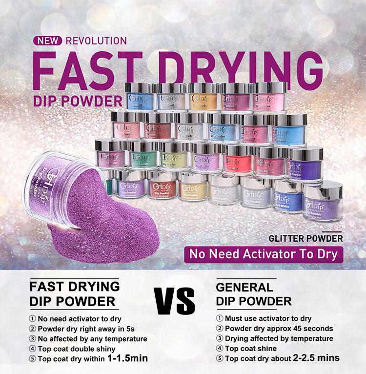Aikker 13pcs Acrylic Dipping Powder Nail Starter Kit 8