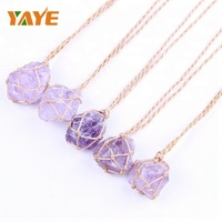 Bulk Wholesale Natural Gemstones Amethyst Rough Stones Pendants