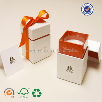 Your Design Candle Packaging Box , Candle Storage Box
