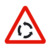 Triangle Warning Aluminum Reflective Parking Traffic Sign