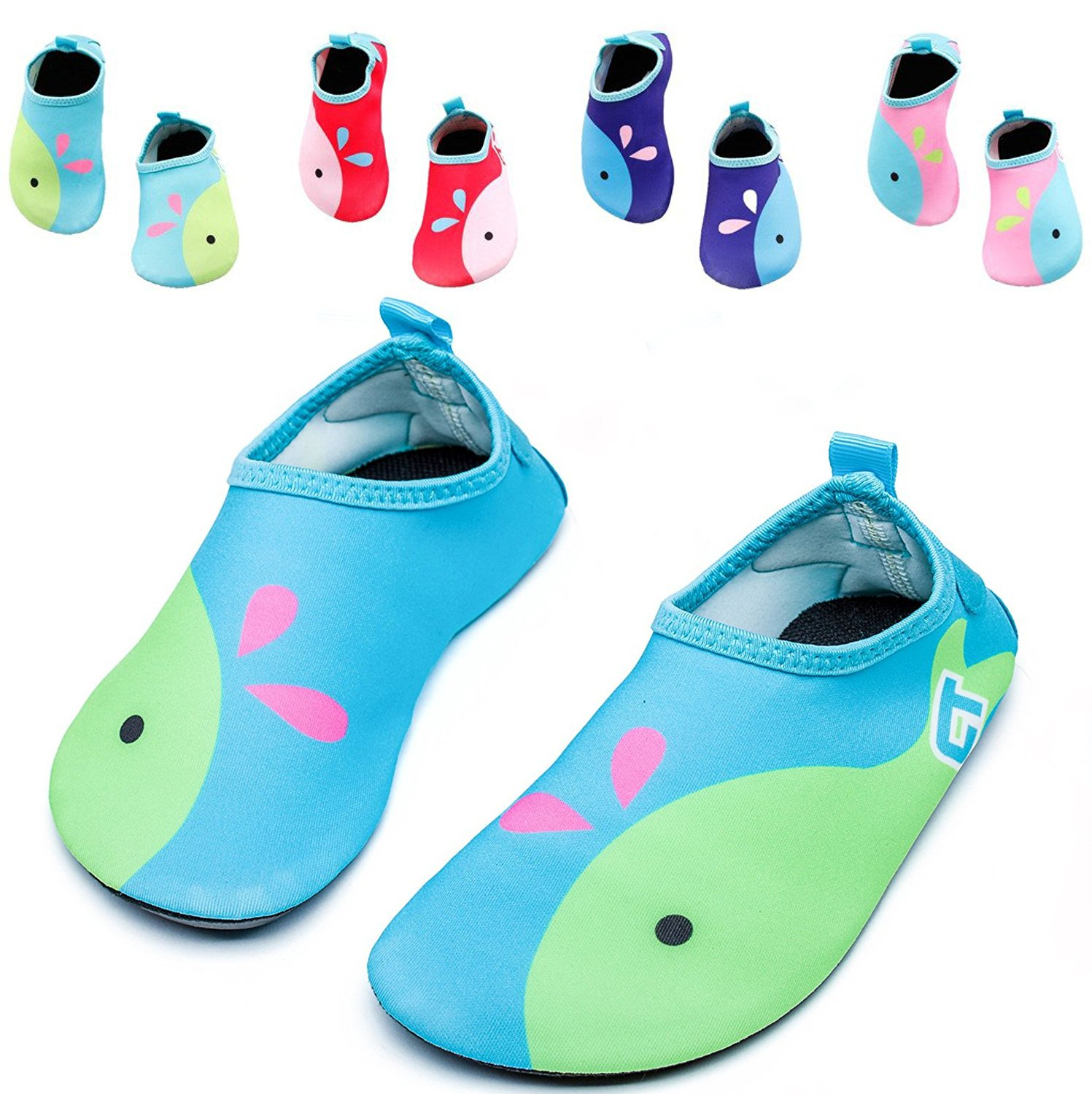 ef88c0a3613a Get Quotations · Vivay Toddler Kids Water Shoes Quick Drying Swim Beach  Shoes Aqua Socks for Boys   Girls