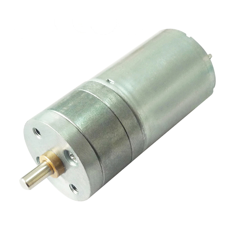 25mm robot12v dc gear motor with gearbox and gear reduction