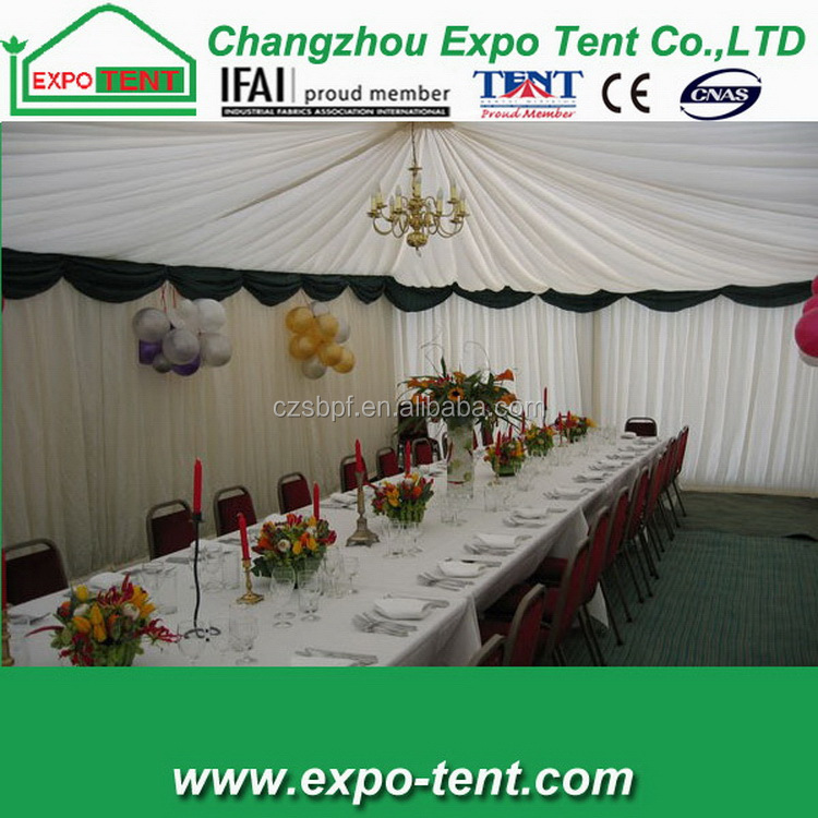 Colorful easy operation special led party tent