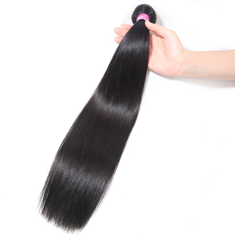 Alimina best mink brazilian hair unprocessed virgin, raw remy hair hair extensions, top straight hair product, Natural color;close to color 1b