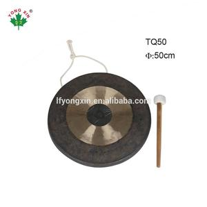 Popular musical instruments antique Copper metal chinese jing wind chao gong for sale