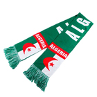 Custom Logo World Cup Knitted Cheap football Fan Cheer Team Scarf Wholesale