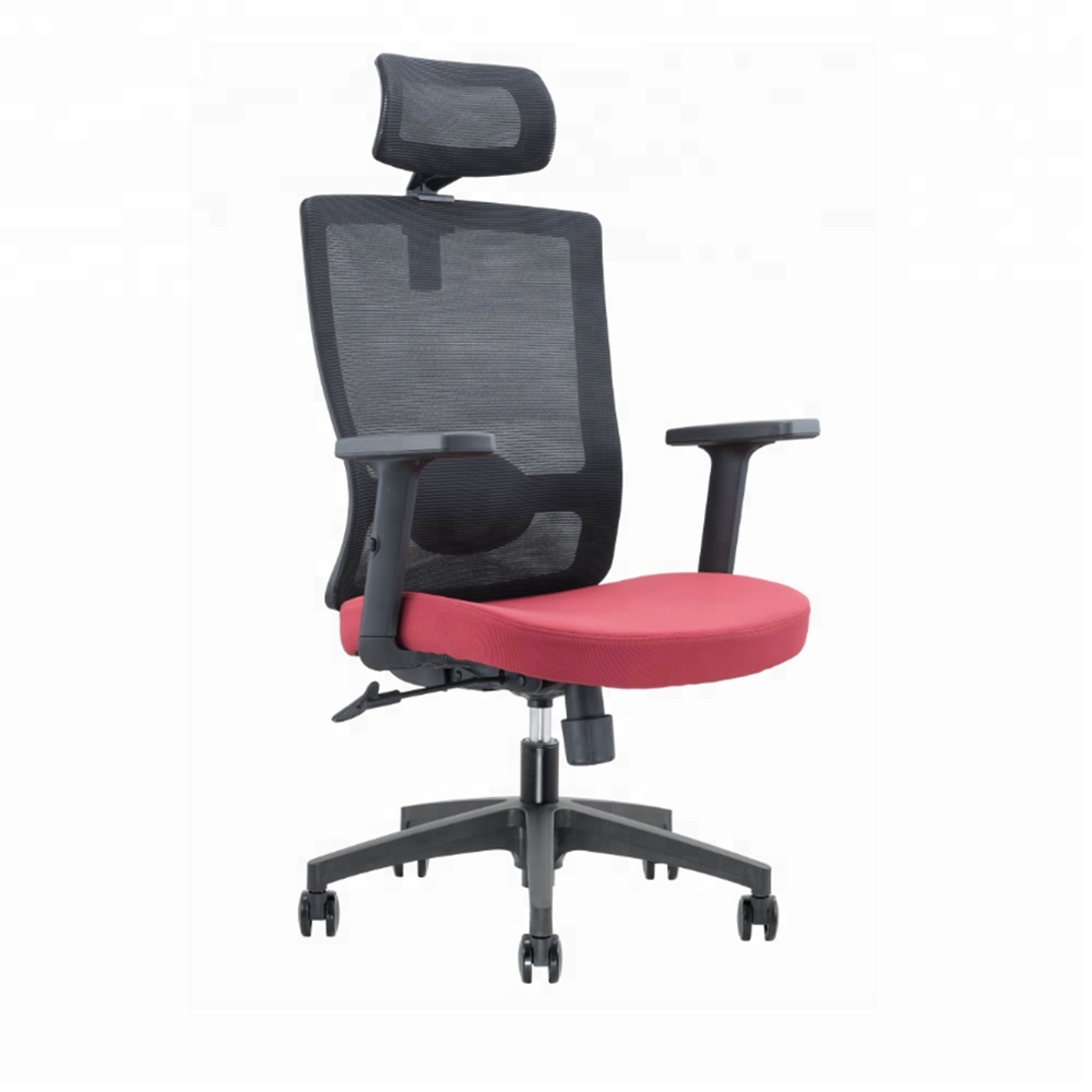 Factory cheap swivel office chair with adjustable lumbar support