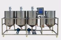 cooking oil filter plant/ vegetable oil refinery plant