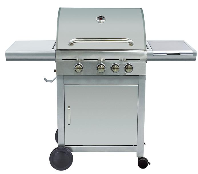 Gaz l 39 int rieur de chef barbecue grill 3 principal - Barbecue gaz avec bruleur lateral ...