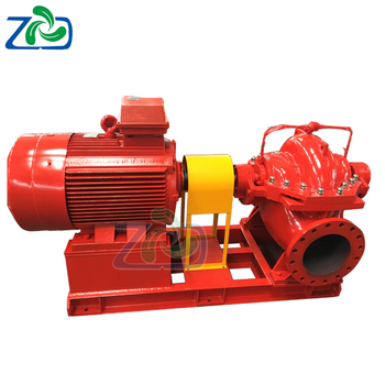 High Head Single Stage Double Suction Split Case Fire Fighting Pump