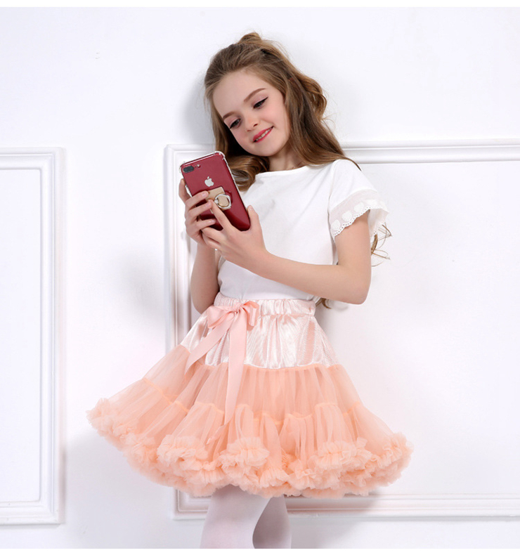 Baby Girls Tutu Skirt Fluffy Children Ballet Kids Pettiskirt Baby Girl Skirts Princess Tulle Party tutu Skirts