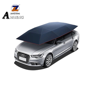 Hot new products car tent automatic umbrella sunshade for cars with Rohs