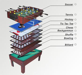 Alta Calidad 9 En 1 Juego Multi Juguetes Para Ninos Mini Juegos De