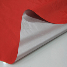 waterproof sunproof 170t 190t 210t polyester taffeta silver coated car body cover fabric