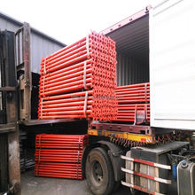 Scaffolding construction support Ghana steel props ( Real Factory in Tianjin )