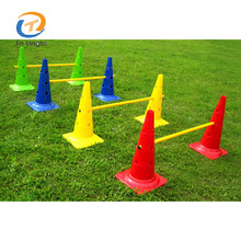Wholesale customized football training soccer cone plastic skating cones