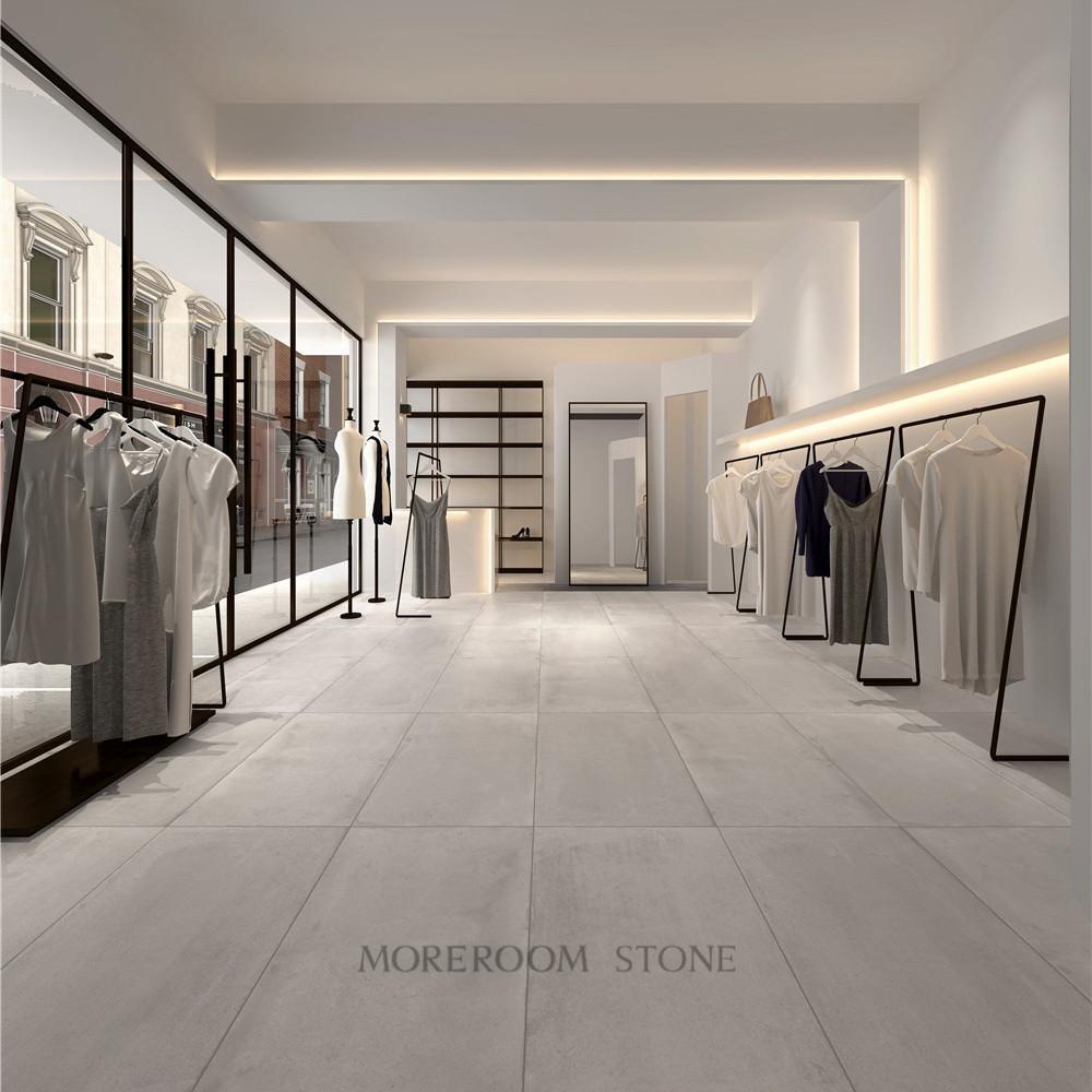 Concrete Tile Matt Floor Large Size