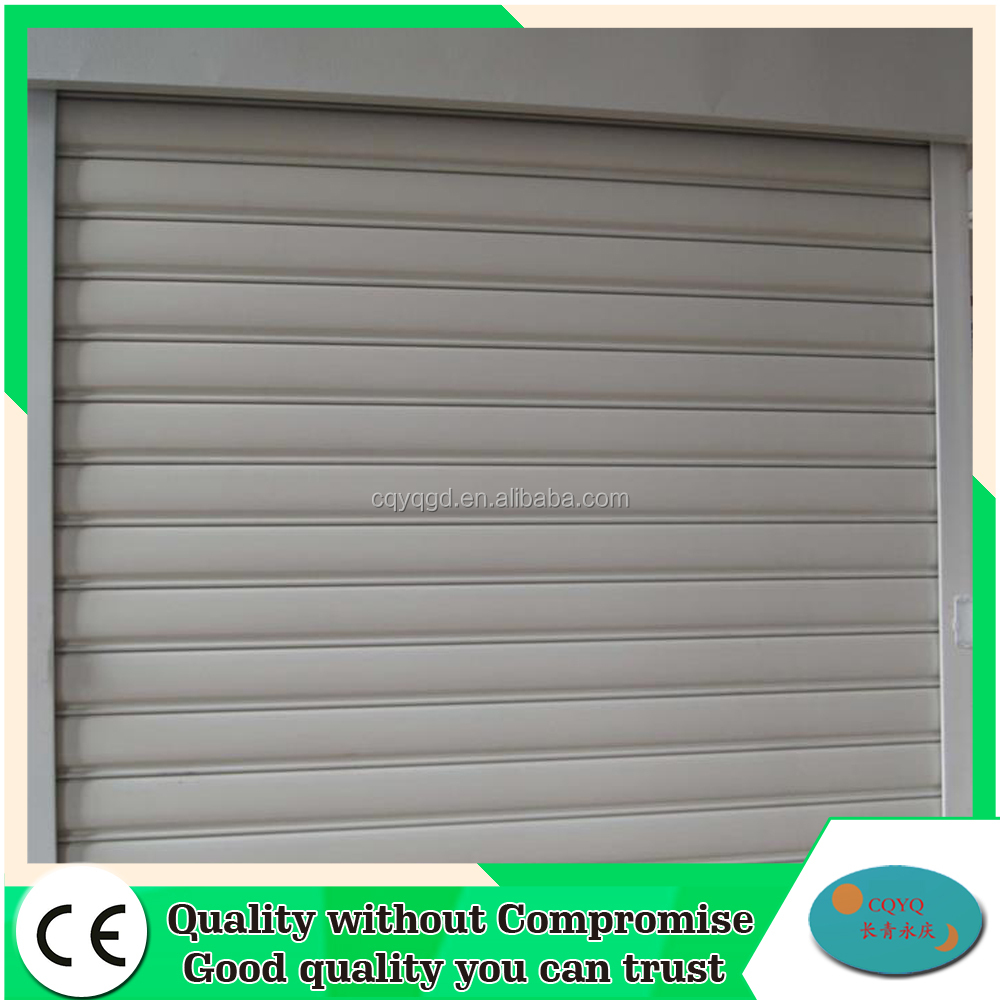 Automatic manual roll up door accessories