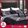 Wholesale queen bed sheet set,the best fashion photo print bedding set matching with pillow