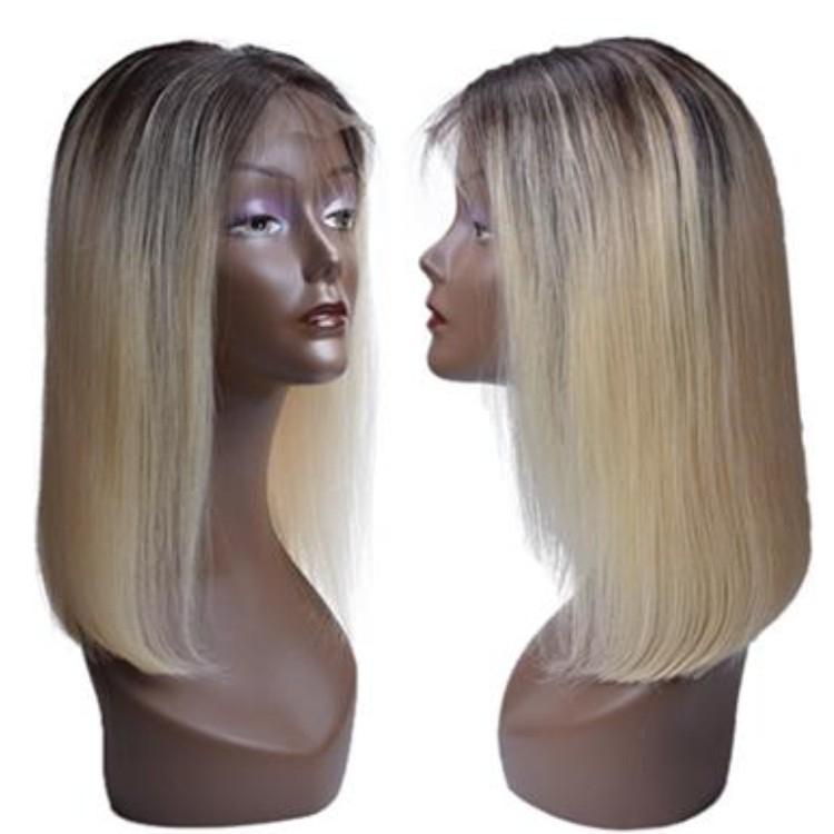 Wholesale Mink Brazilian 100% Human Hair Wigs 1b/613 Virgin Hair Lace Front Wig Short Bob Wigs For Black Women фото