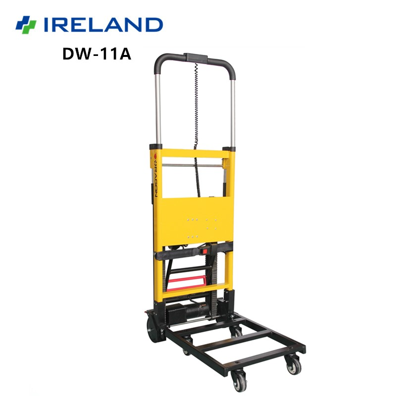 20 miles driving distance power lithium battery for industry use aluminum hand truck