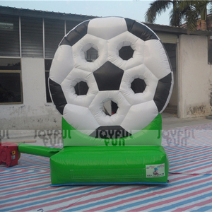Five holes flower shape Inflatable soccer target indoor ball shooting sport game equipment on sale