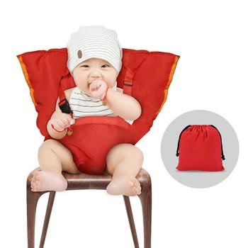 Kinderstoel Voor Peuters.Draagbare Reizen Kinderstoel En Veiligheid Gordel Voor Zuigelingen