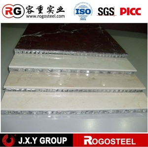 "Thickness 55mm high quality aluminum cladding with cell size 15/64""mm"
