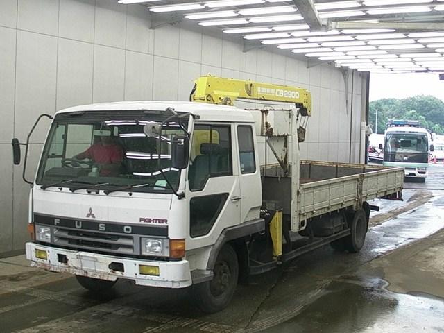 Mitsubishi Fuso Fighter Crane Truck / 6d16 Engine