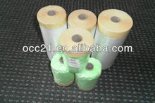disposable plastic hdpe over spray white masking film for auto body shop