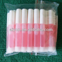 clear and pink color nail glue