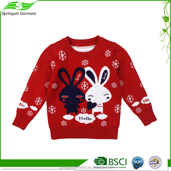 New Children Knit Sweater Embroidery Designs Kids Sweaters Baby