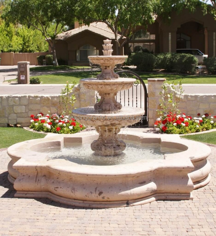 outdoor marble water fountain outdoor marble water fountain