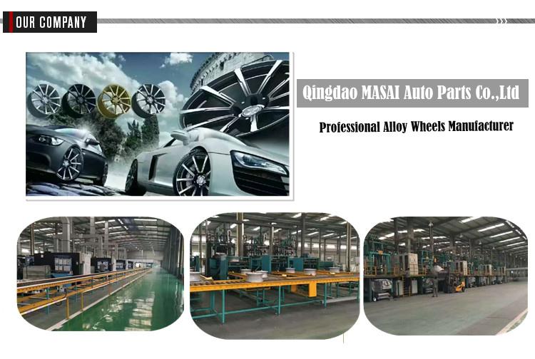 Permukaan Mesin Gunmetal Gray Ditempa Kosong 5X130 21 Inch Roda untuk Porsche Cayenne