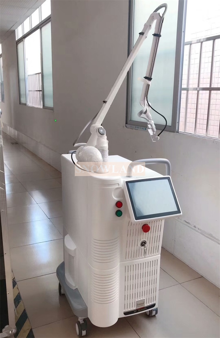 RF tube equipment vaginal vagina tightening freckle stretch mark skin mole acne scar removal fractional co2 laser beauty machine