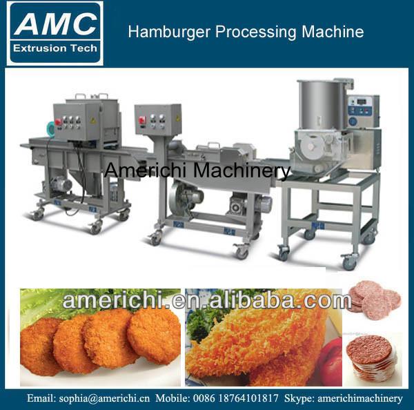 Hamburger Kipnuggets Machine-snack Machines-product-ID