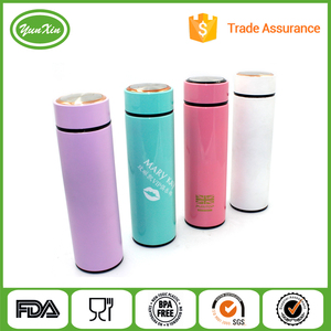 Korea popular stainless steel Bachelor vacuum cup thermos flask
