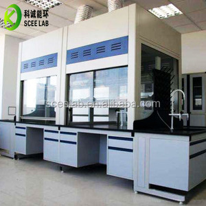 China supplier Laboratory chemical PP fume hood for corrosive chemicals