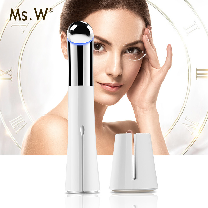 MS.W New Style Mini Face Care Instrument Eye Care tool Electric Vibrating Eye Care Massager With USB Rechargeable