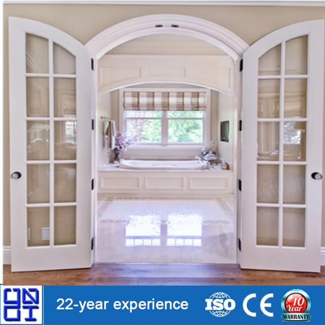 Aluminium French Doors Design Arched Top Interior Doors