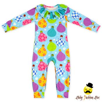 2lly 166 Yihong Christmas Long Sleeve Custom Design Baby Clothes