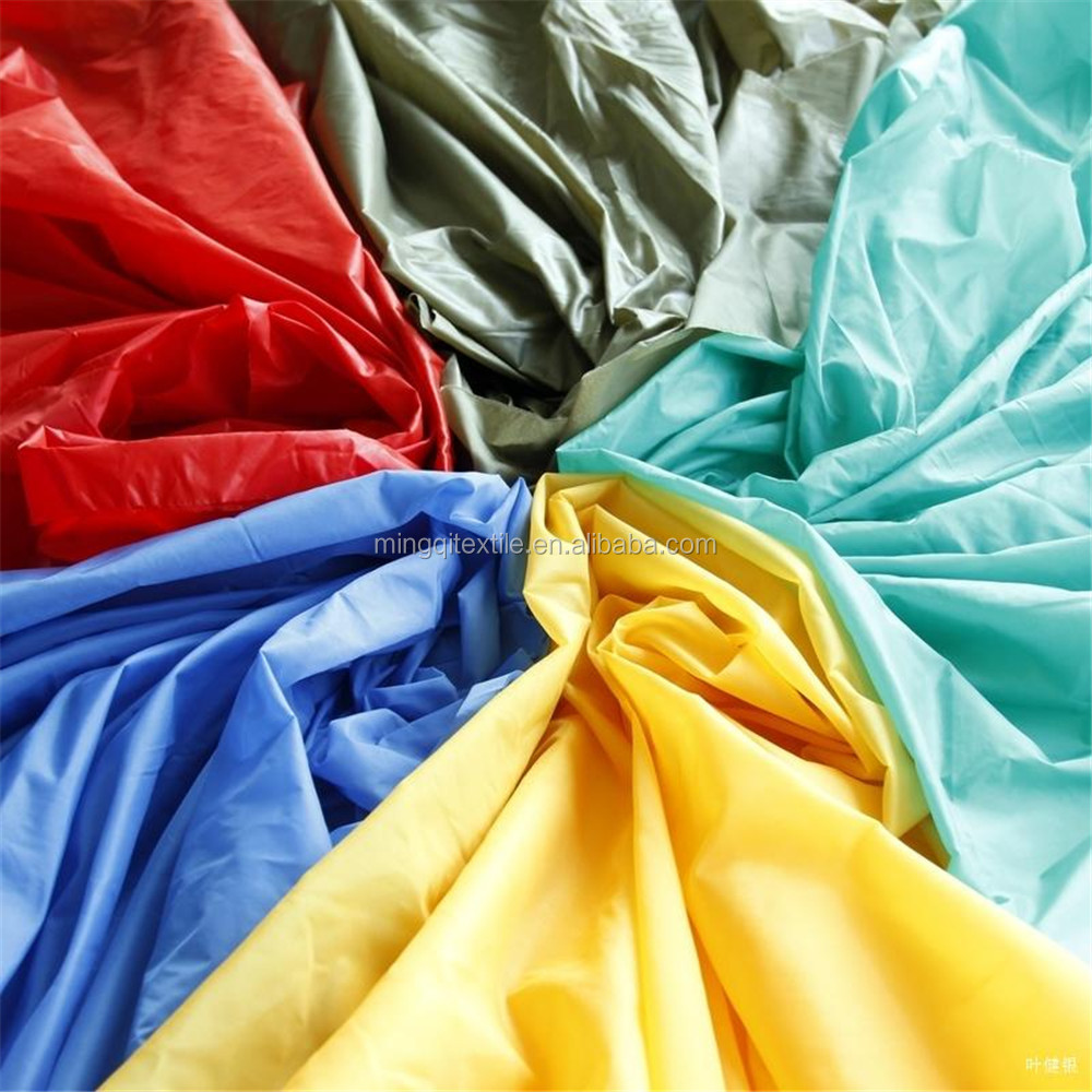2016 Hot Sale China Wholesale 290T 300T Taffeta Fabric Made of 100% <strong>Poly</strong>