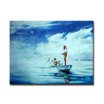 Modern Simple Natural Sea Landscape Wall Art Frameless Paintings On Canvas For Room Decor Buy Wall Art Frameless Paintingnatural Art