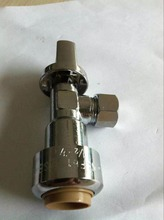 LB-GUTEN TOP Brass Lead Free High Quality 1/2-inch Fip By 3/8-inch Tpc Ball Valve With Angle Supply Stop