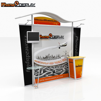Hot sale popular aluminum exhibition modular booth for trade show